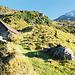 Rückblick von der Alp Blacki zum Rot Bristen.
