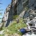 Zustieg zum Klettersteig