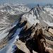 Gipfel Matterhorn Peak - Blick in südliche Richtung zum Whorl Mountain.