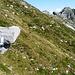 Links vom Pizzo Costic ist der Übergang auf die Seite des Val d'Osola