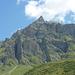 Gipfel 2830m, dem Schwarzhorn vorgelagert