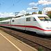 Unterwegs mit dem ICE von Basel SBB nach Kiel