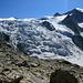 Glacier de Moiry mit Dent des Rosses 3613m, Pointes de Mourti 3564m