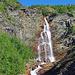 Wasserfall am Weg zur Ny Sulitjelma - Hütte