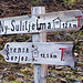 Unser heutiges Ziel sind die Hütten von Ståddåjåkk, ca. 6 km weiter als Svensk Sorjos