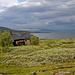 Die grosse Hütte von Staloluokta. Mit Sauna, Shop und gefährlichem WC....