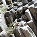 Basalt-Formation südlich von Devils Postpile.
