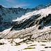 Der Weg weiter oben war oftmals schon schneebedeckt und der Aufstieg entsprechend mühsam.