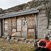 Hütte bei 2340m, mit Christian, vor dem Aufstieg zum Gerenpass