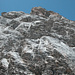 Die leichten Gipfelfelsen