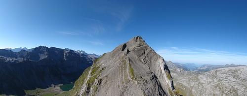 Blick zurück zum Gross Chilchbärg