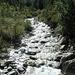 L'acqua del giovane Ticino presso All'Acqua