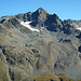 Zwei schöne Blockgletscherzungen unter dem Gletscherchen im Kar am Fuss des Sarsura Pitschen