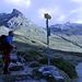 Fino al bivio a Q2183, a sinistra si sale in Val Pischa