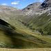 Val da Fain, vista dal sentiero che sale la Val Pischa