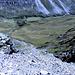 Il sentiero che scende in Val da Fain, al ritorno