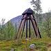 Der Glockenstuhl der Kirkkåta