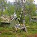 In der Vaisaluokta Sameviste suchen wir das Haus des Fischers
