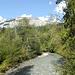 Wunderschöner Bergbach unterhalb von Trin Mulin