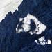 Bergsteiger-Schatten im Ela-Loch