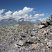 Panum Crater (30.07.2011) - Blick zum Mount Dana (mittig). Links daneben: Mount Gibbs und Mono Pass.
