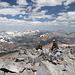 Gipfel Mount Dana - Blick in nordnordwestliche Richtung.