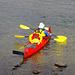 In Saltoluokta kann man Boote mieten und die Landschaft vom Langas aus betrachten