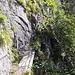 Die schmale Passage vor der <em>Leitere</em>, die man aber (ohne Vertigo) durchaus noch abrennen kann.