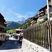 Nicht zu verfehlen: Der erste Berg nach Zermatt.