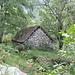 die intakte Hütte von Saborsone