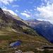 Aussicht von Cap Quarnei auf Ürbell, Cardedo, Cima Rossa