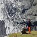 alpinbachi vor alpiner Kulisse
