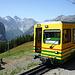 Mit den Jungfraubahnen von Lauterbrunnen zur Kleinen Scheiddgg - je höher man kommt, umso beeindruckender wird das Panorama
