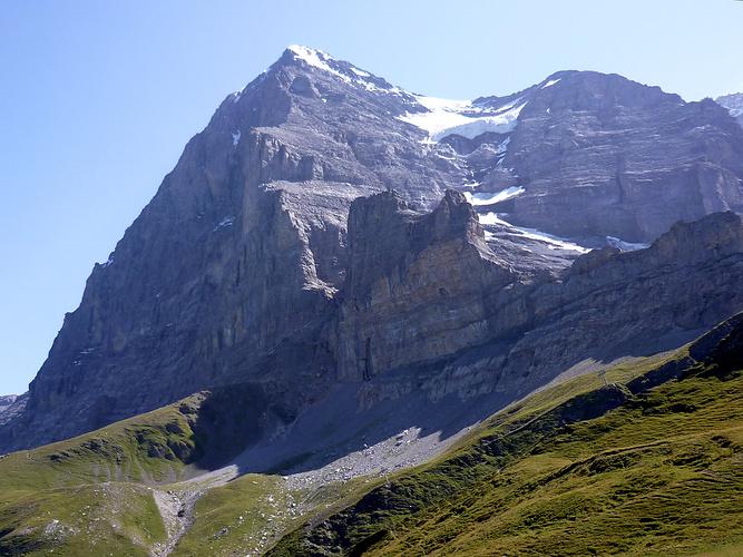 Klettersteig Rotstock : Das tagesziel rotstock klettersteig in sicht von hier [hikr.org]