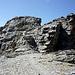 Der Gipfelaufbau des Rotstock