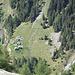 Alpe Piotta: Blick hinunter auf Piano di Pena