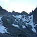 Die Abstiegsroute über den Obertalgletscher