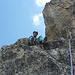 Unser Bergführer geniesst die Aussicht