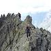 Der letzte Gratabschnitt bis zum Gipfel