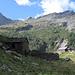Die neue Hütte auf der Alp Giümela