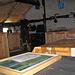 Das schöne Interieur der neuen Giümela-Hütte