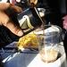 Welcome Ireland !<br /><br />Ein erstes Guiness im Zug auf der Fahrt von Belfast nach Dublin.