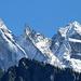 Spitzen-Panorama im wahrsten Sinne des Wortes, Sciora Dafora, Ago di Sciora, Sciora Dadent