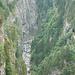 Blick in die Schlucht des Hinterrheins