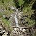 Wasserfallkaskade im Eckleitengraben