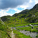 Im schönen und wenig begangenen Aufstieg vom Chalet des Chéserys zum Lac Blanc