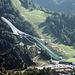 Die neue Skisprungschanze von Partenkirchen