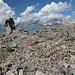 Panum Crater, Plug Trail - Unterwegs im Bereich des Lava-Doms.