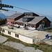 Berggasthaus auf dem Haldigrat