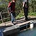 Volker und Johannes beim Fachsimpeln